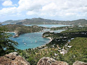 Vue de English Harbour (Antigua).